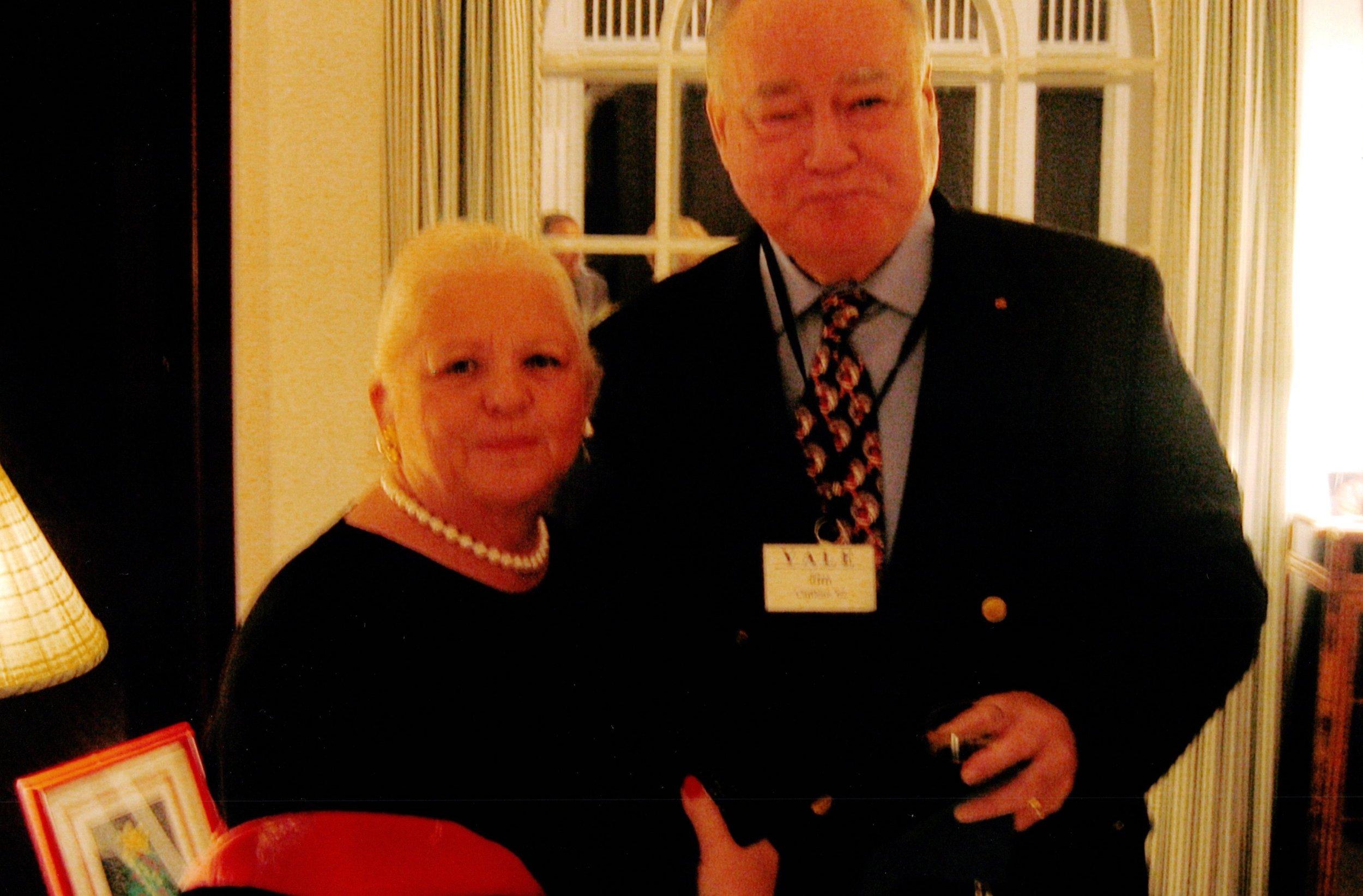 LINDA AND JIM CARTHAUS