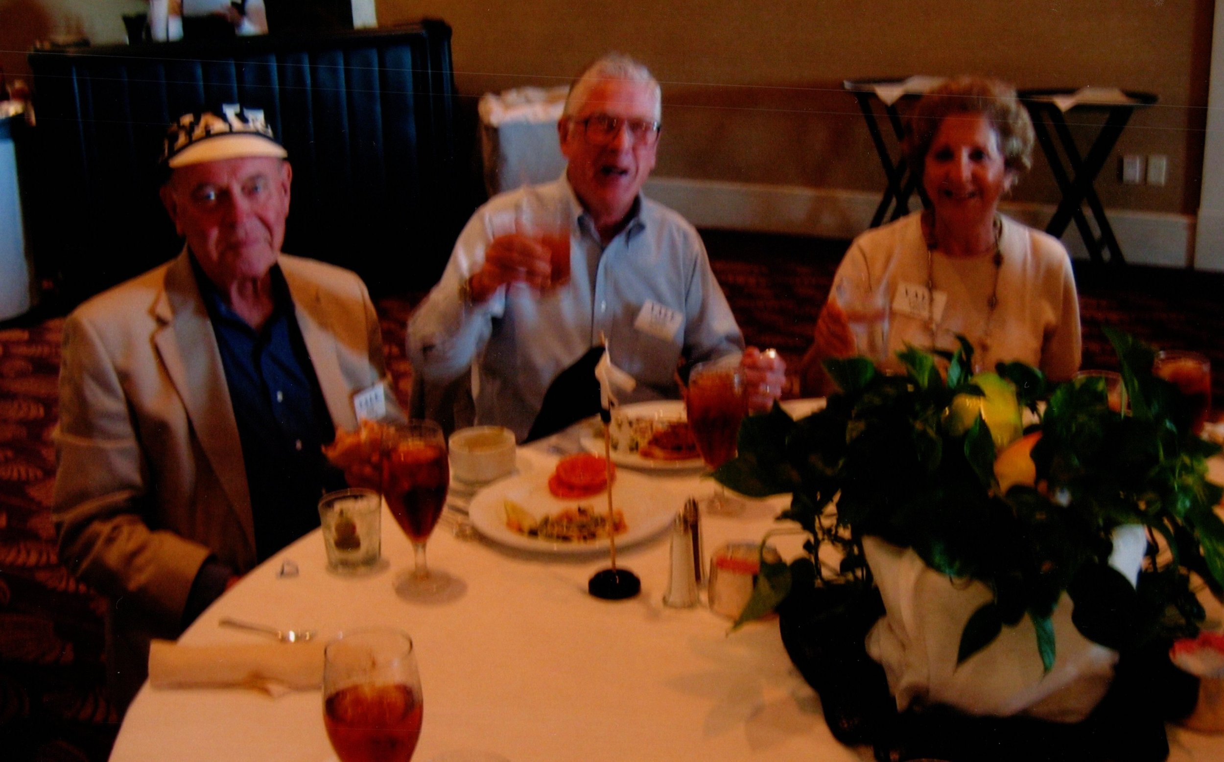 JACK THOMAS, CHARLIE AND LAURIE MORSS