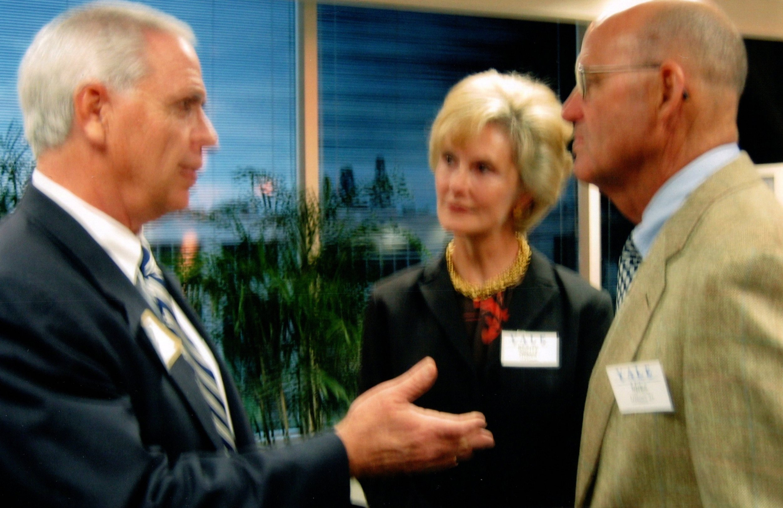 TOM BECKETT, SHERRY AND MICHAEL O'HEARN