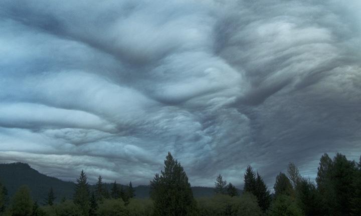 Cloud Panorama, North Cascade Mountains, Washington