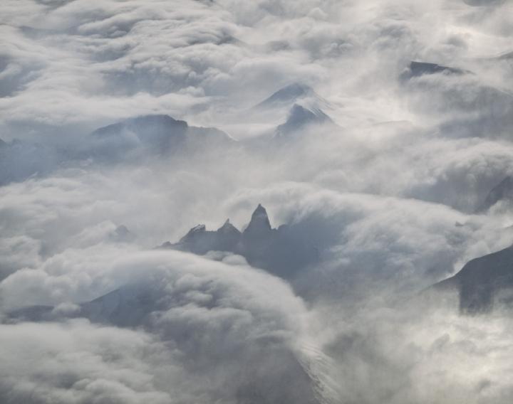 Aerial Image: Baffin Island Stilettos