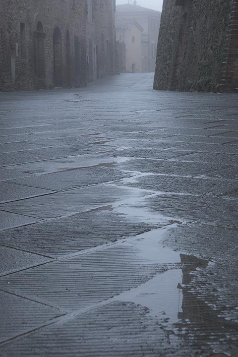 Barnbaum…Montisi, Dawn, Fog