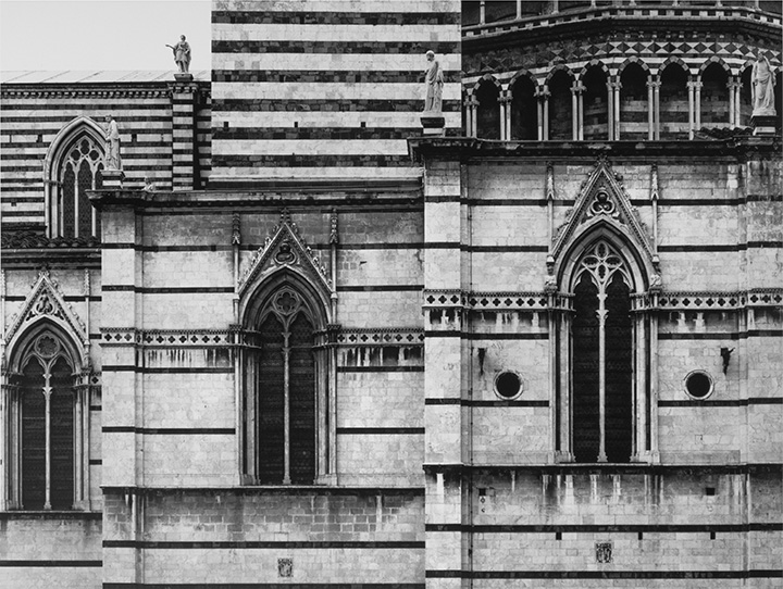 Photograph Above: Barnbaum…Siena Duomo Geometries