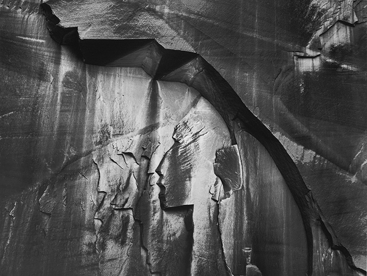 Barnbaum: Indian Head Bas Relief, Wolverine Canyon