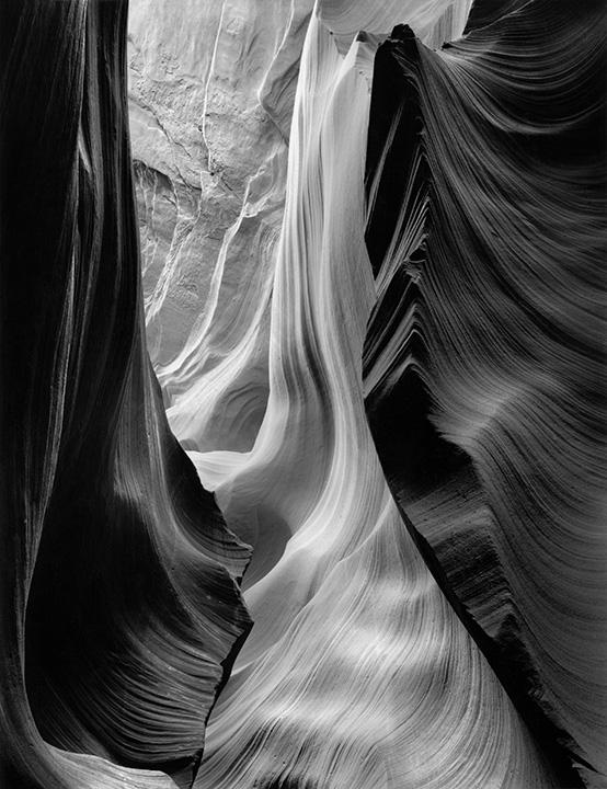 B&W Slit Canyons