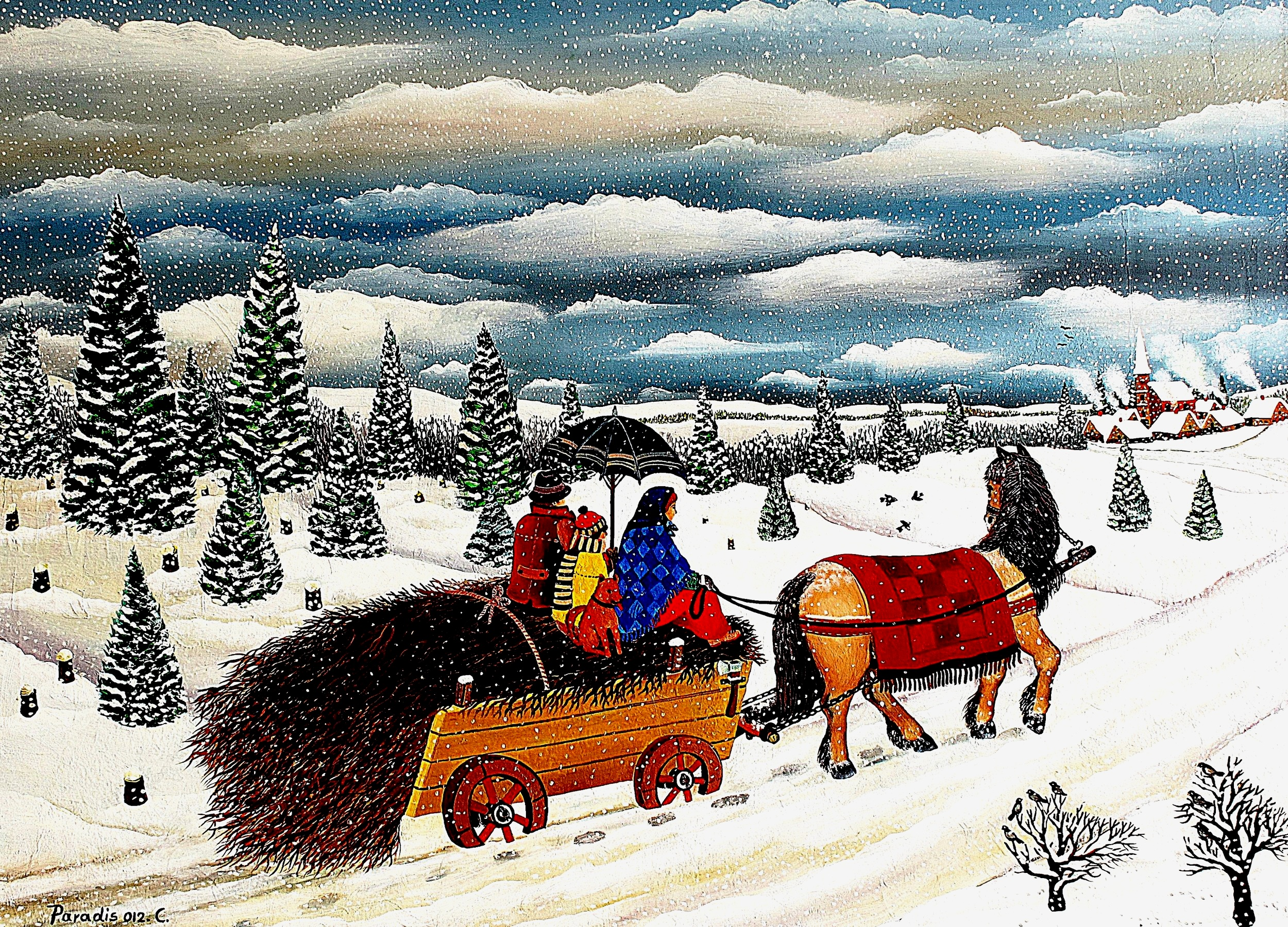 horse in snow large painting.JPG