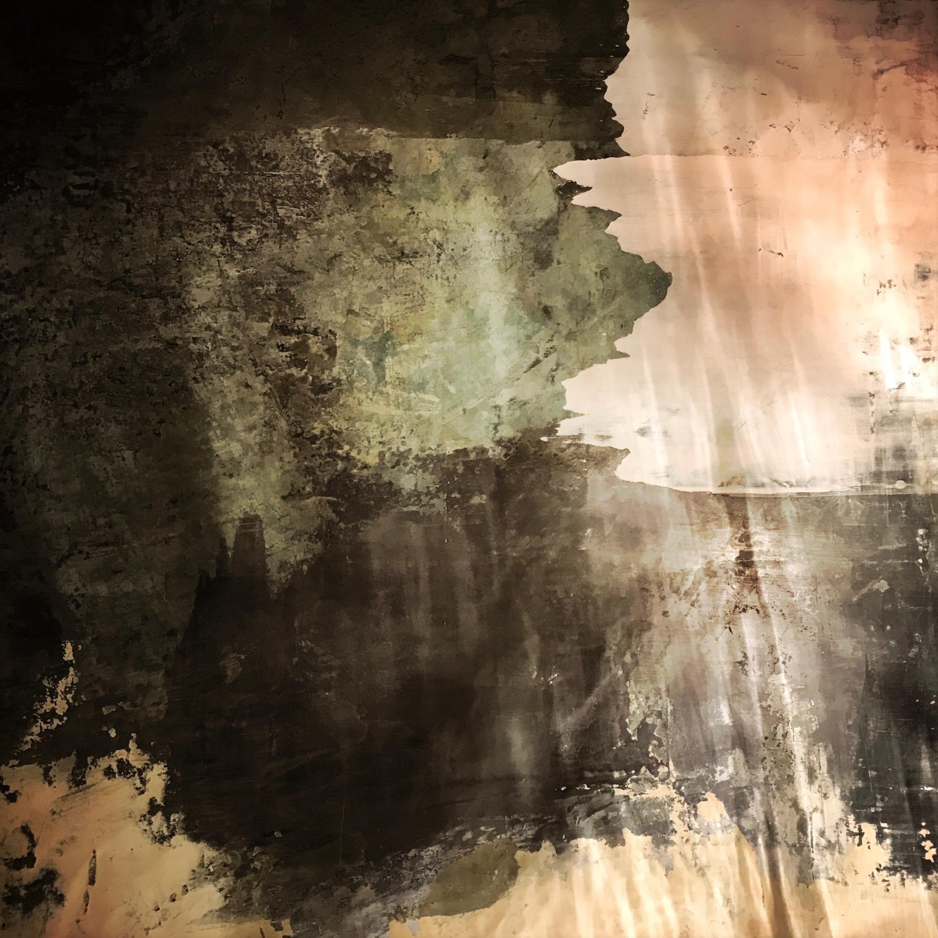 Ungdomsrum - Detalj av väggmålning.