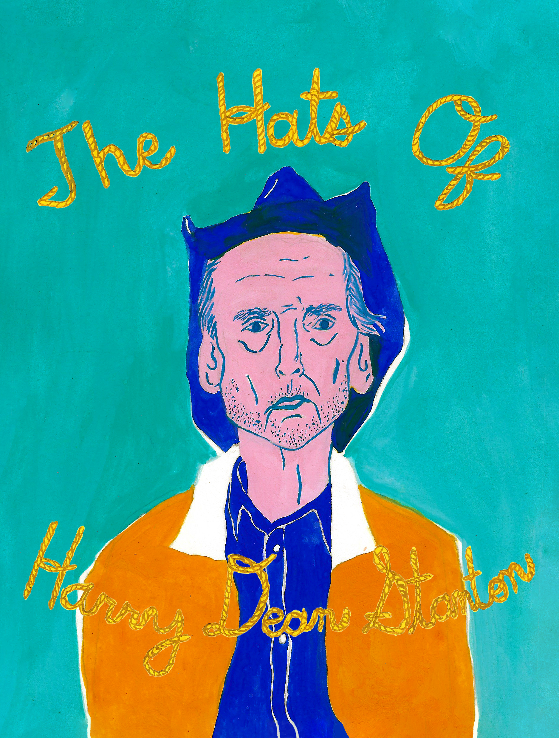 Hats of Harry Dean Stanton