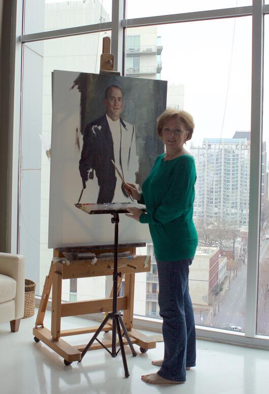 Carol's studio in Midtown, Atlanta