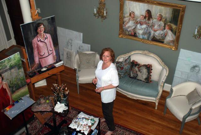 Carol's previous studio in Mableton, GA.
