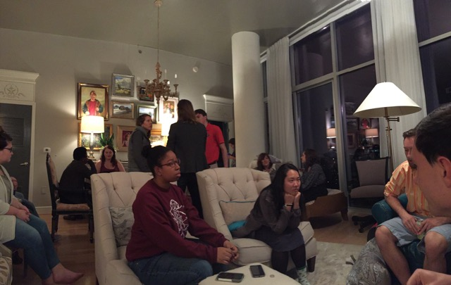 Midtown Missional Community gathering in our condo