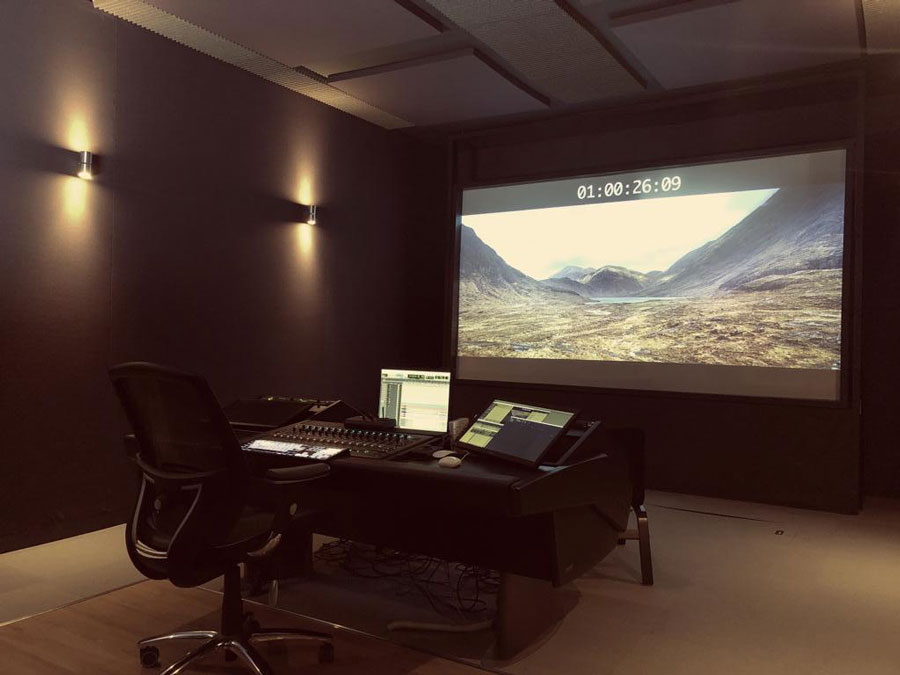 Dubbing Theatre - Our studio has a Protools HD mix system, with up to 7.1 surround mixing, and HD projection system. The studio can also be used as a viewing theatre, with comfortable seating for up to 8 people.