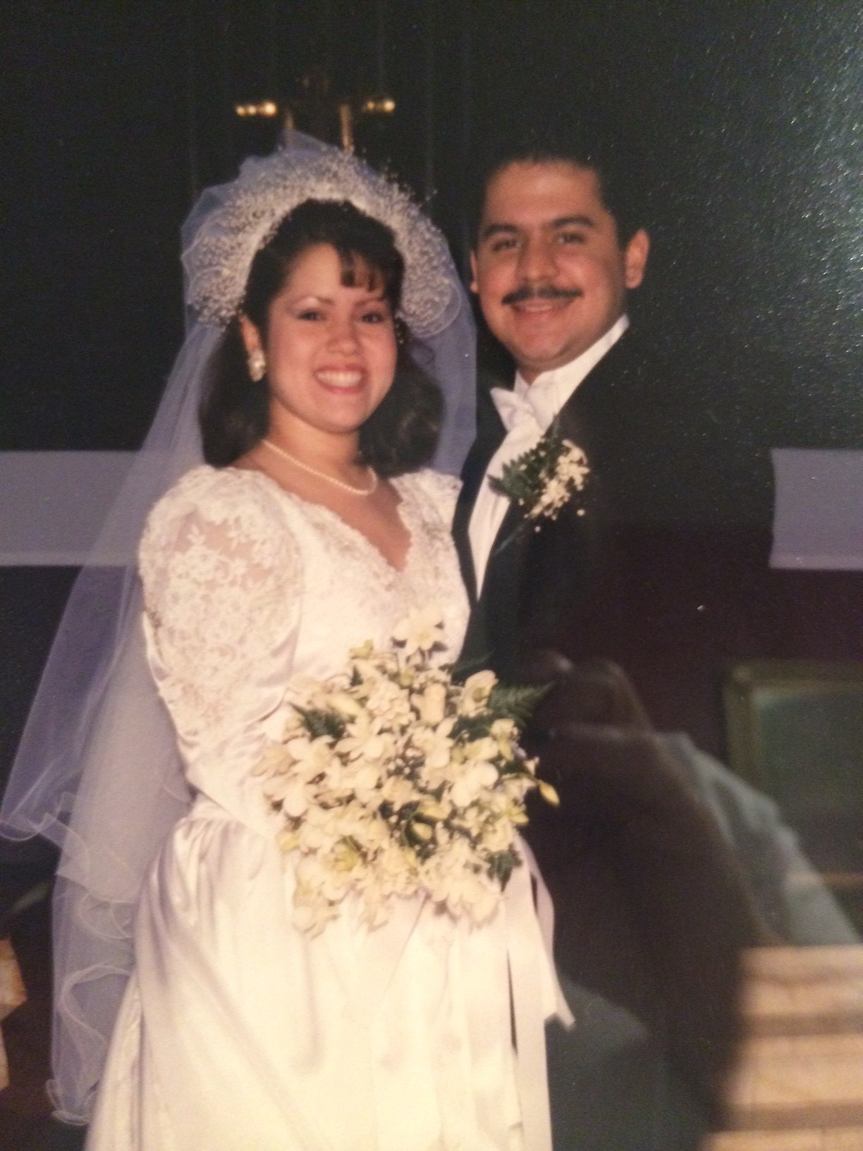 Our wedding photo circa March 18, 1989 !!