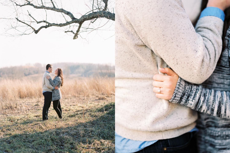 Sweet Briar College Engagement | Blue Ridge Mountains | Husband and Wife Team | Lynchburg, Virginia | Kelsey & Nate | kelseyandnate.com