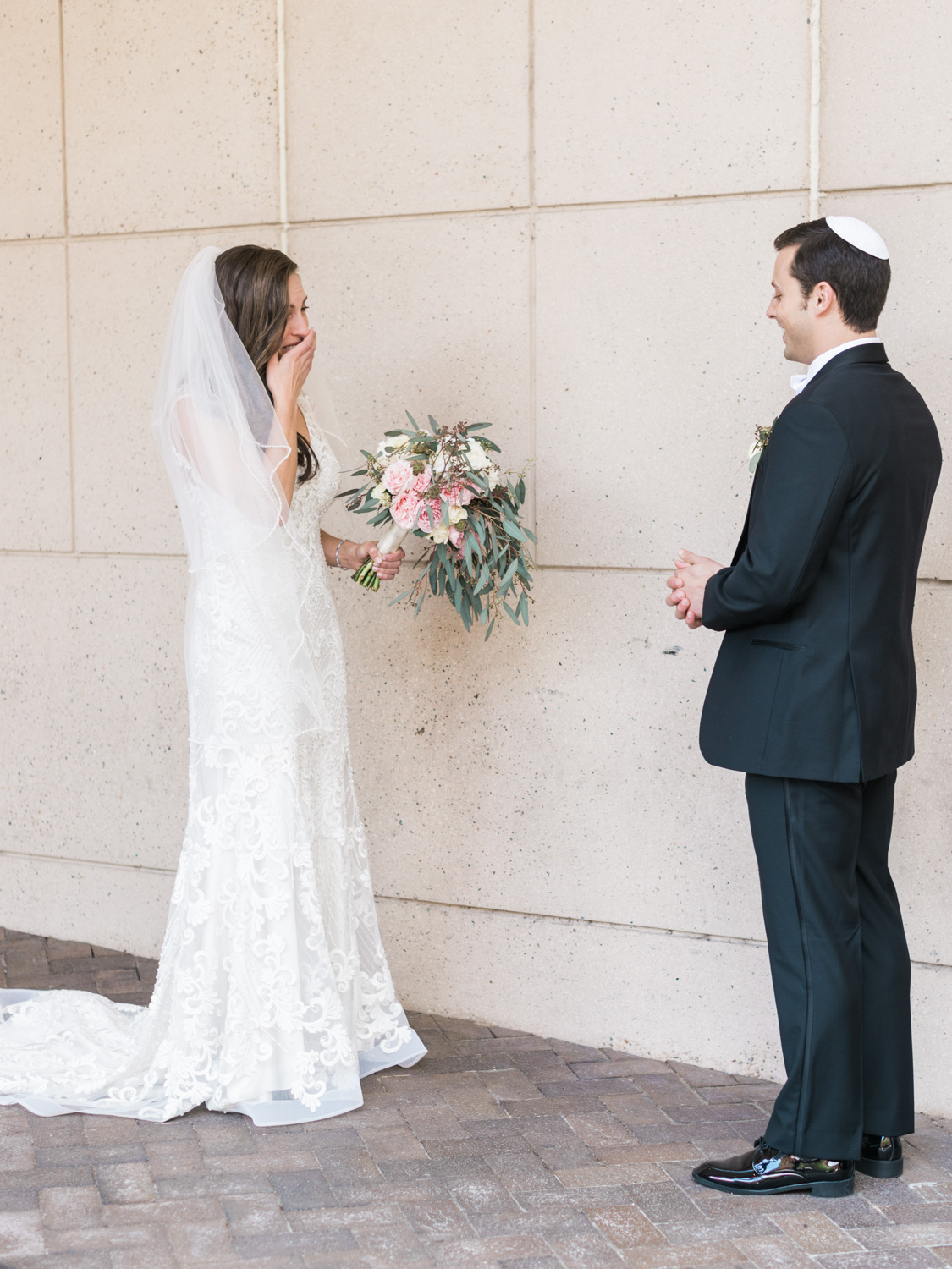 Richmond Jewish Marble Hall Wedding | Omni Hotel | VMFA | Beth Ahabah | Wedding Photography | Kelsey & Nate | kelseyandnate.com