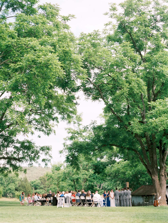 Lynchburg Virginia | Sorella Farms | Charlottesville Virginia | Wedding Photographer | Kelsey & Nate | kelseyandnate.com | Scottish Wedding | Ceremony under a Tree