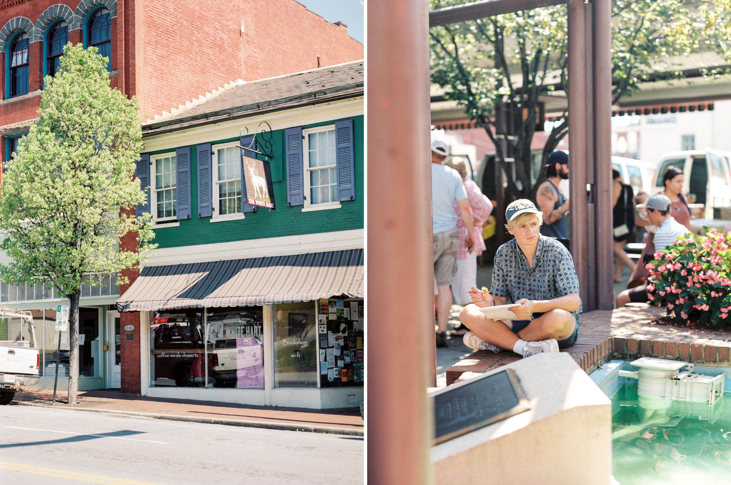 Lynchburg Community Market | Downtown Virginia Photographer