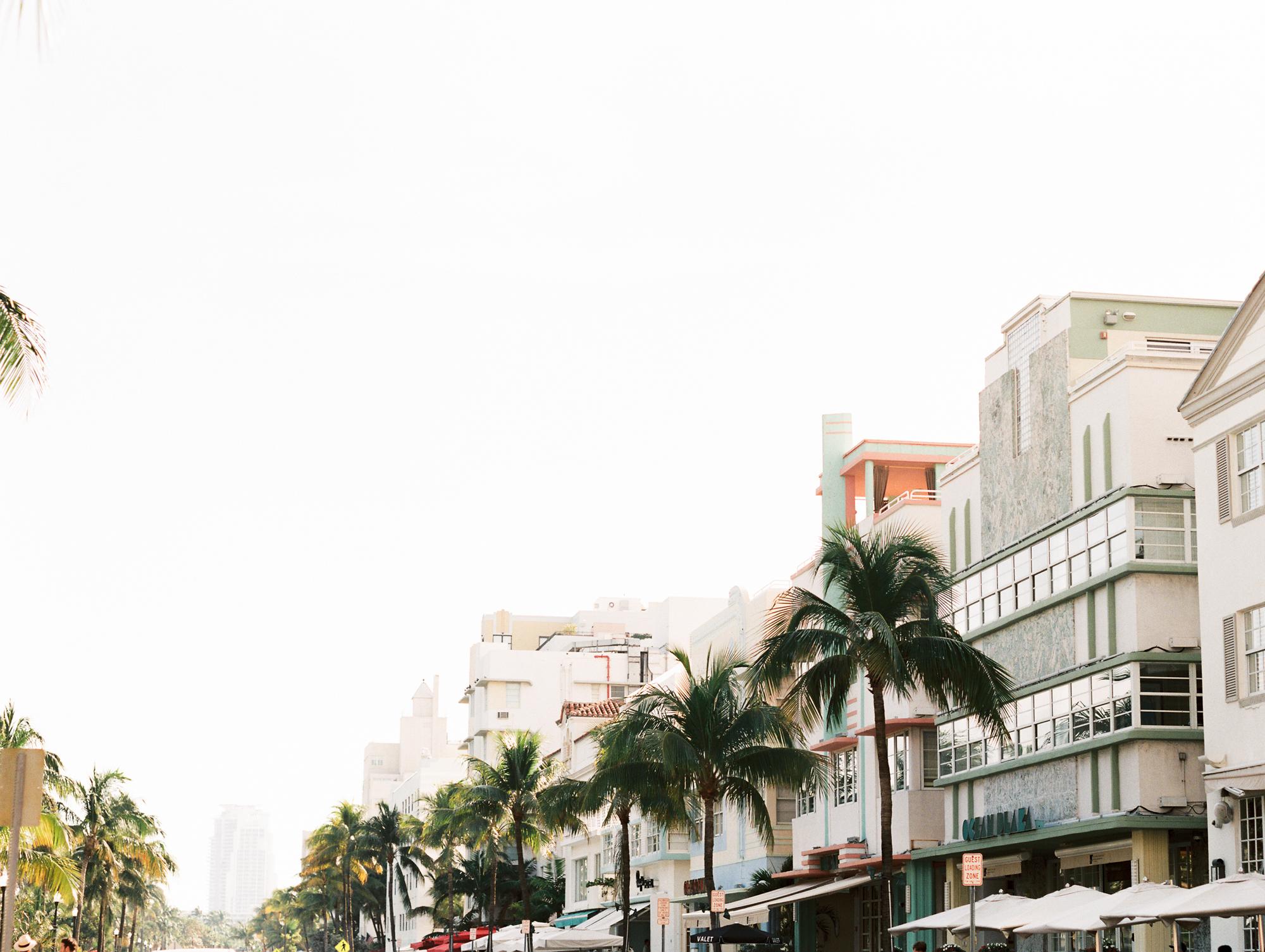 Modern South Beach Miami Wedding