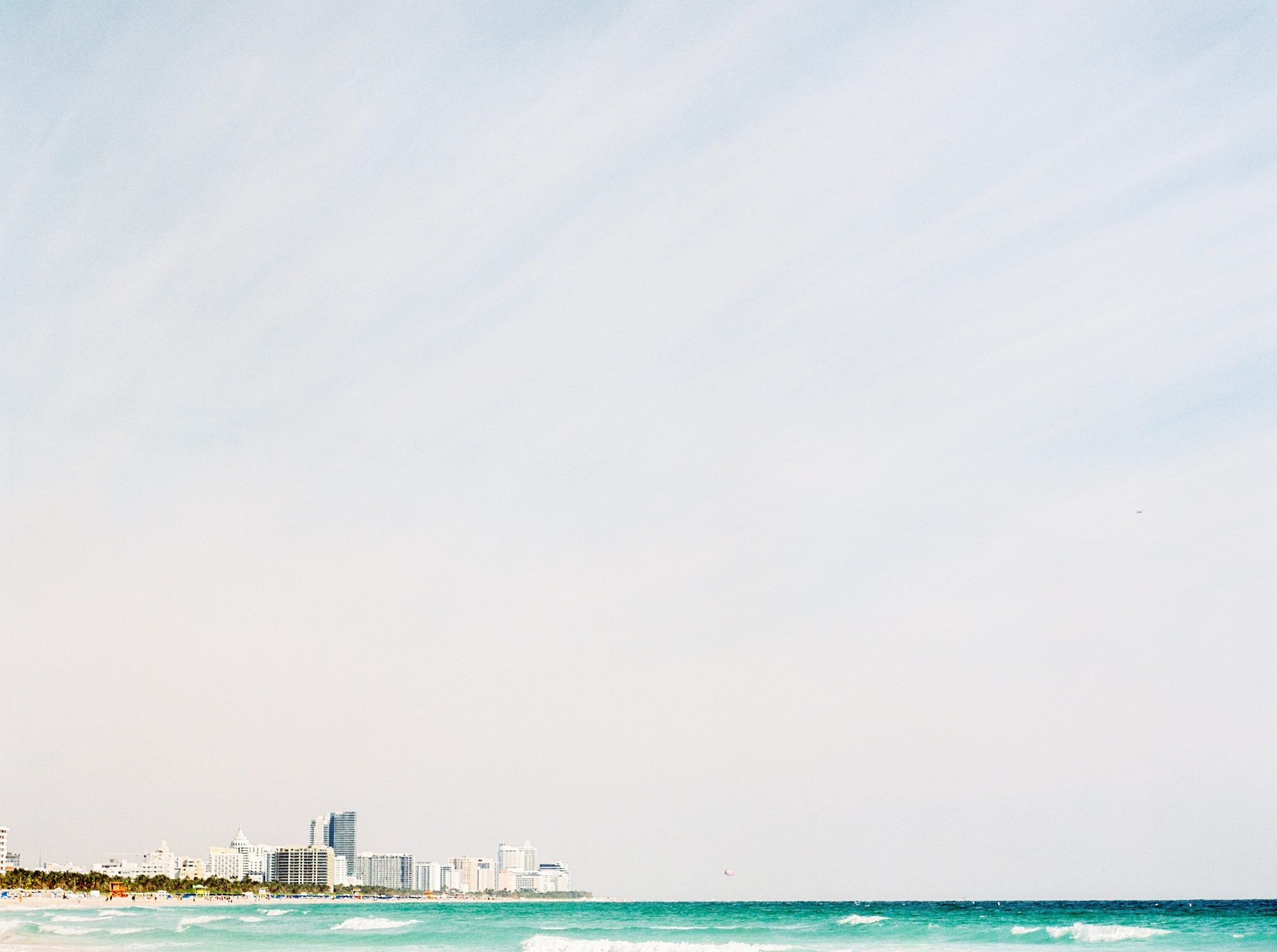 Miami Beach Waterfront Engagement Session