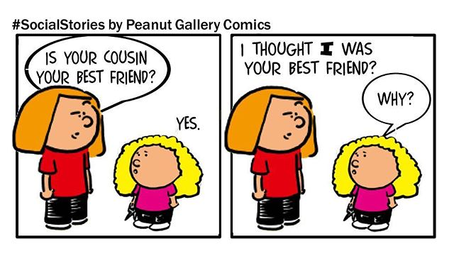 Walked right into that one! Funny story found on social. Made into a comic by PeanutGalleryComics.com #momlife #girlmom #bff