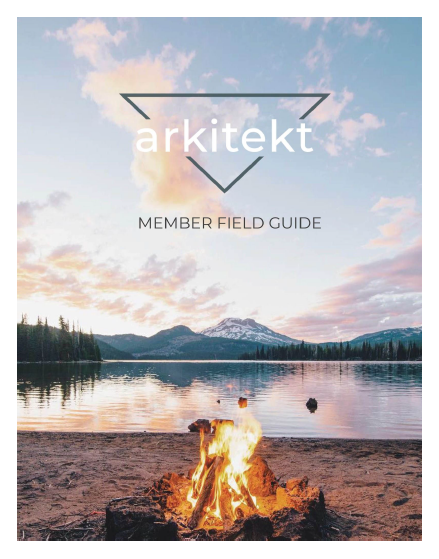 The Arkitekt member field guide -