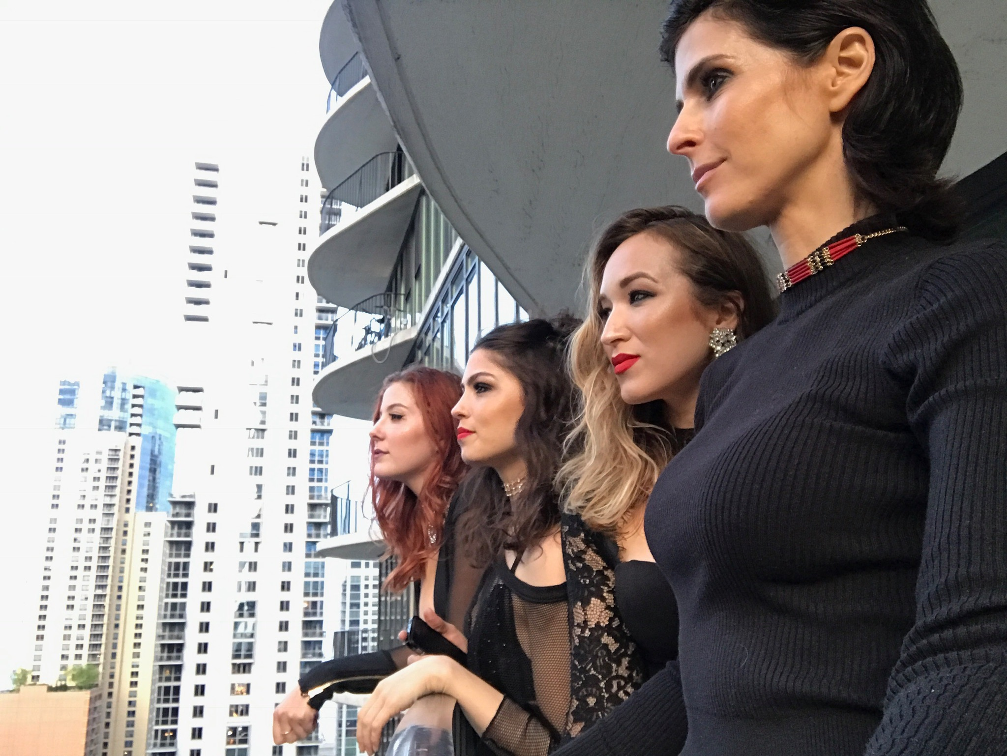 Left to Right: Jessi, Me, Sara & Jovanka