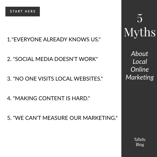 5 Local Online Marketing Misconceptions