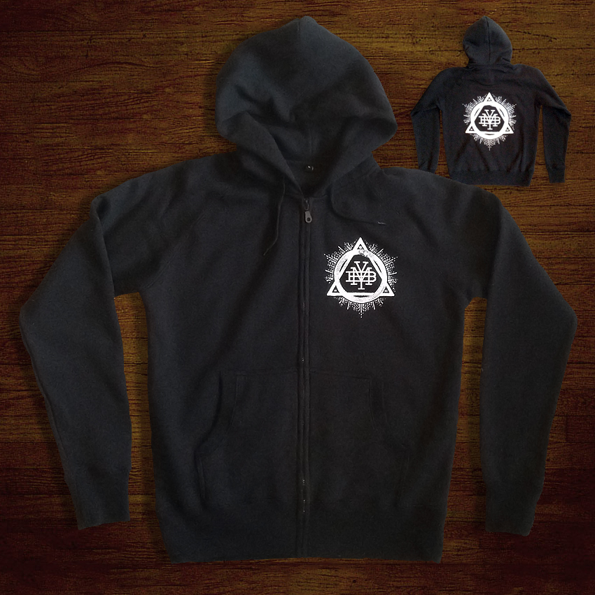 We have some brand new merch up in our online store! Starting with these new Triad Zipper Hoodies. All proceeds go towards funding our next film project. You can visit the store here - http://makeyourbones.bigcartel.com/