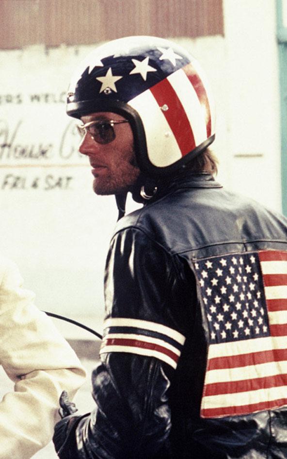Peter Fonda as Captain America.