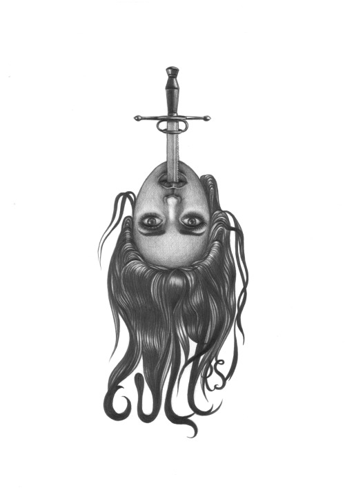 Sword Swallower by Kristina Vladi.