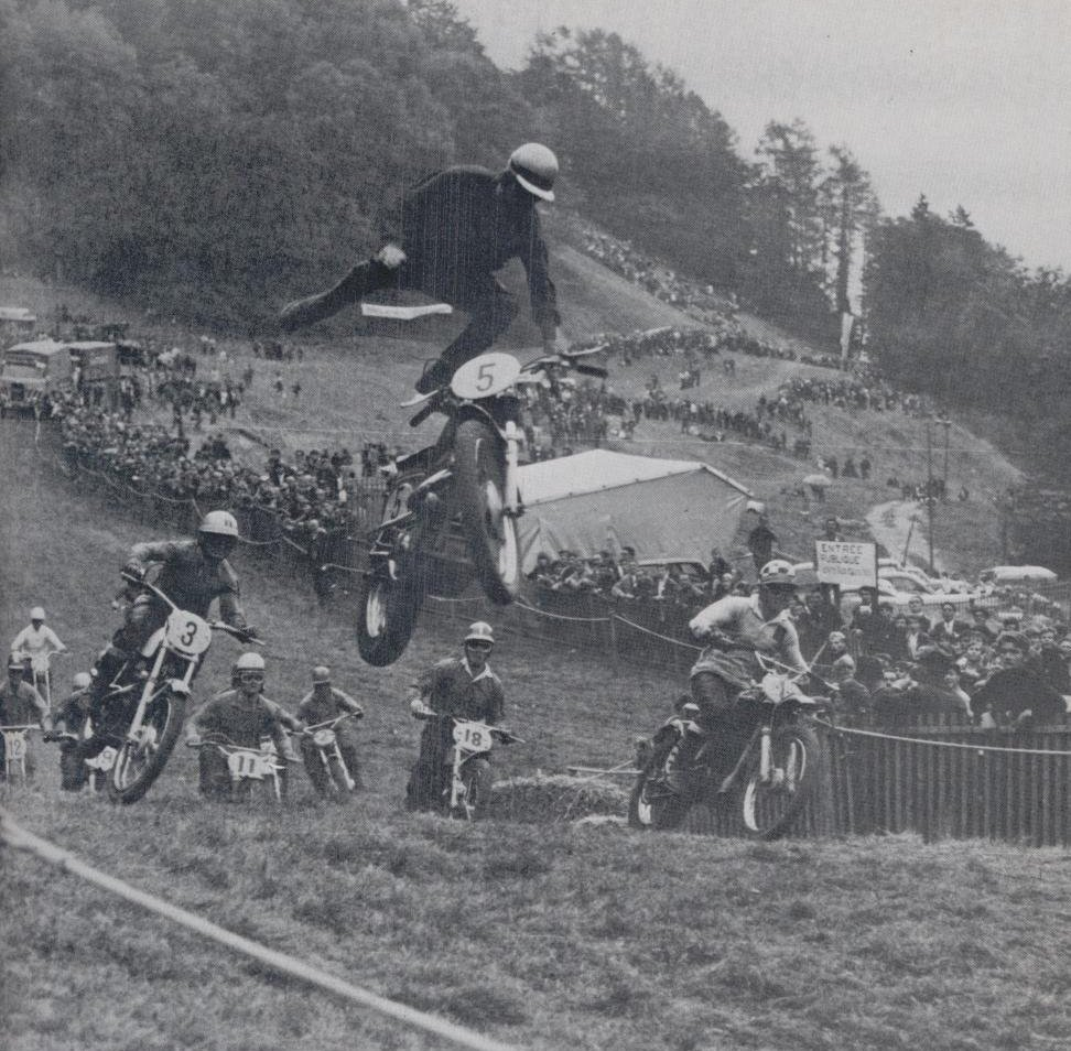 Early freestyle motocross pioneers …