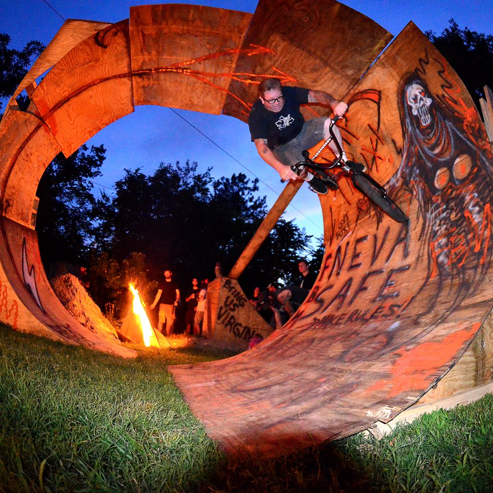 They have way too much fun in Richmond, Virginia. Awesome, creative and wild two wheeled scene.