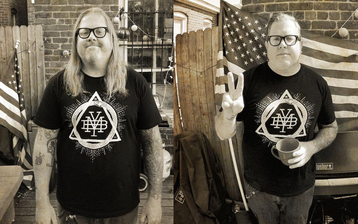 FBM's Steve Crandall rocking a Make Your Bones Triad T .