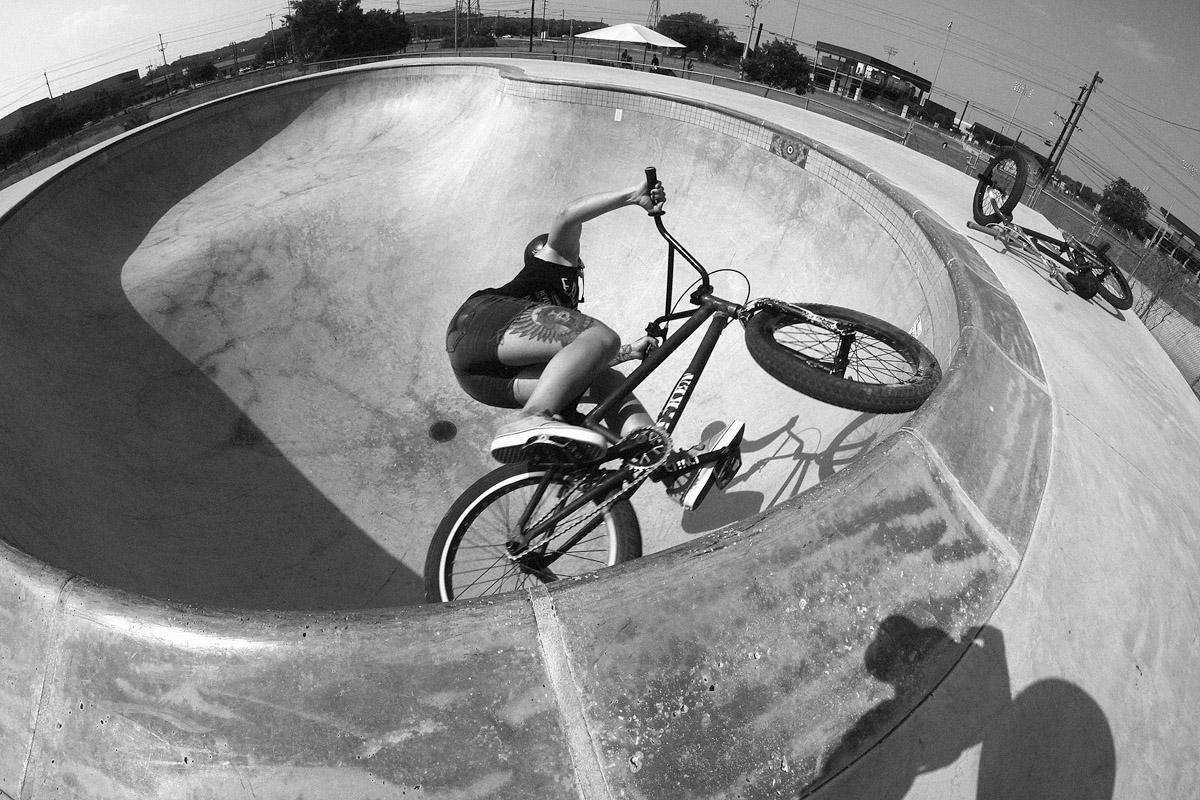 Dani Windhausen  is a shredder! On BMX & motos…