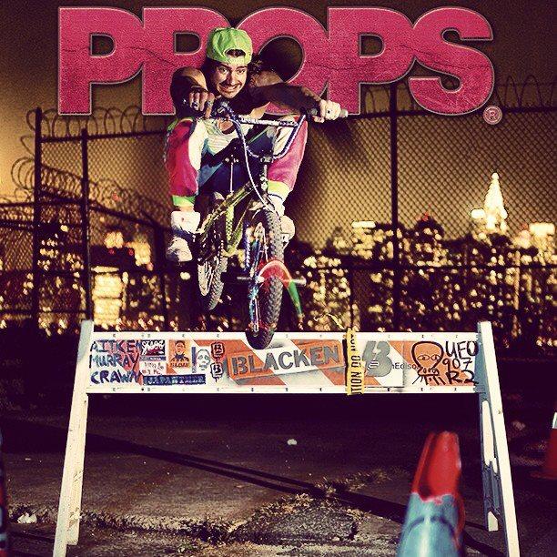Props Issue 74. Darryl Nau's got pop!