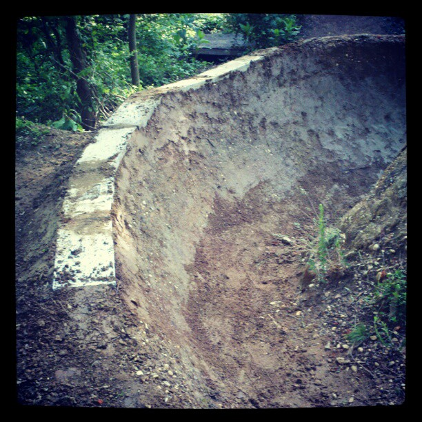 Pool coping berm. (poached from Steve Crandal's instagram).