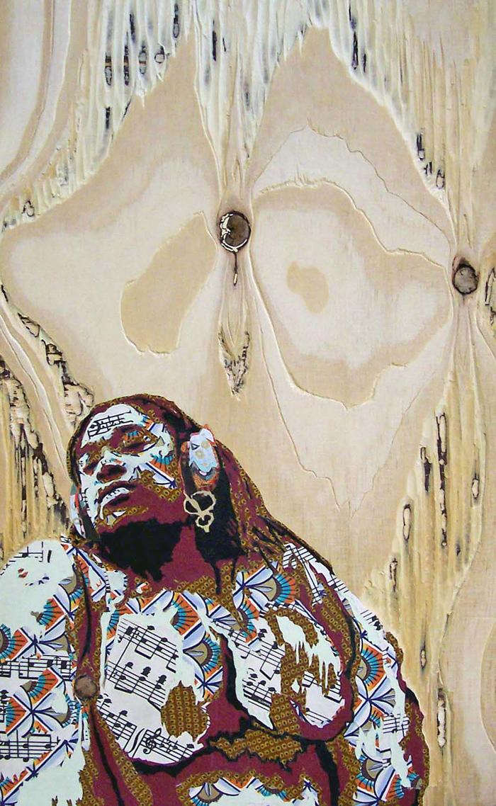 Lorna Williams-Ancestral Listening-2005-mixed media on wood panel-20x13.jpg