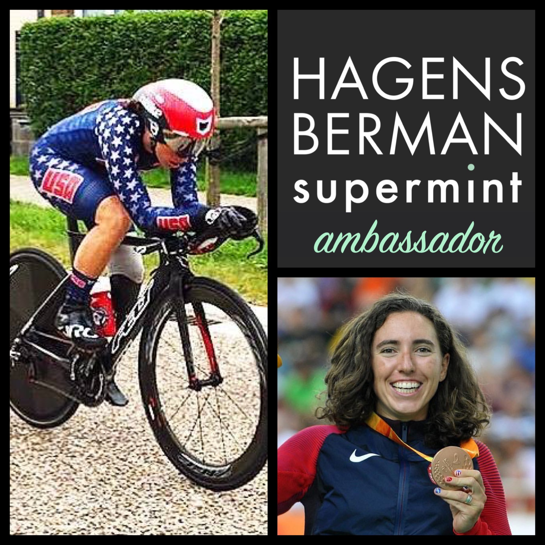 Meg is partnered with Lily Williams for the 2019 season.