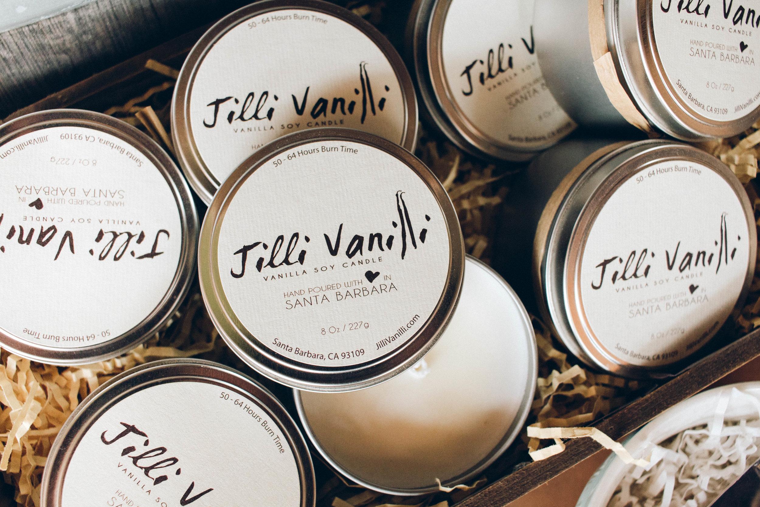 Jilli Vanilli Vanilla Soy Candle