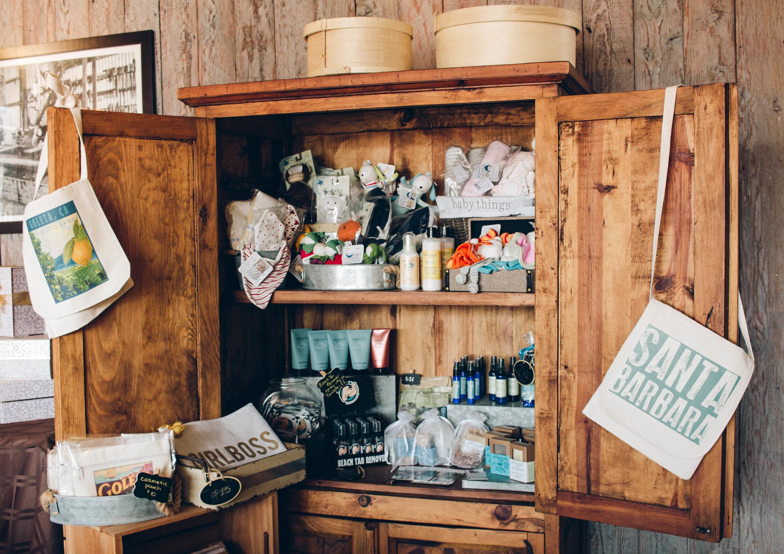 Santa Barbara Gift Baskets | ERINFRED.com