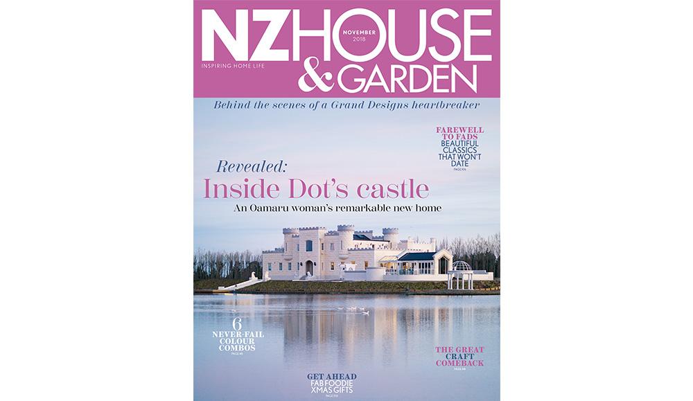 Bridget Foley Interior Designer in NZ House & Garden November 2018 Issue