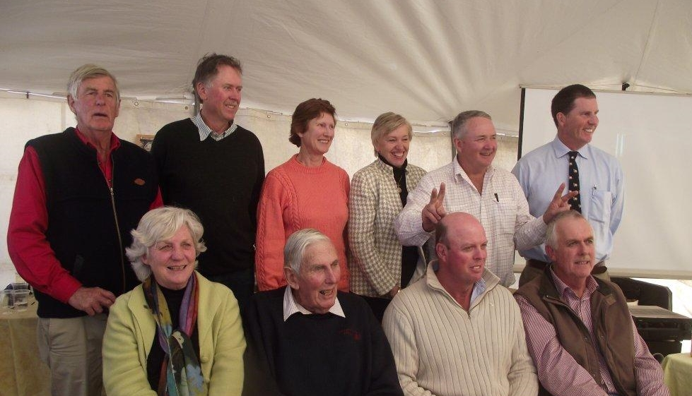 Past Presidents of the Traprock Group