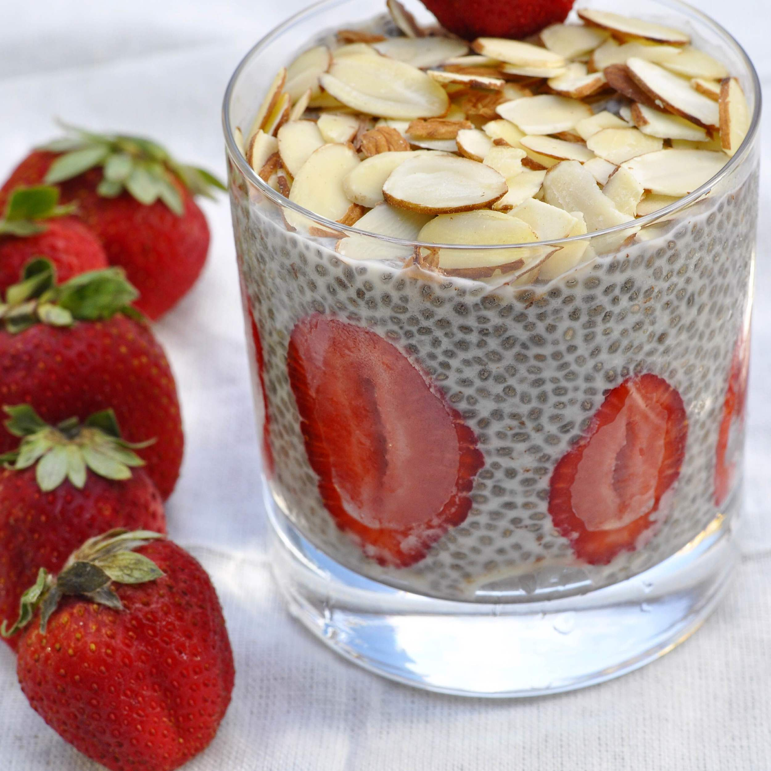 Healthy breakfast chia seed recipe