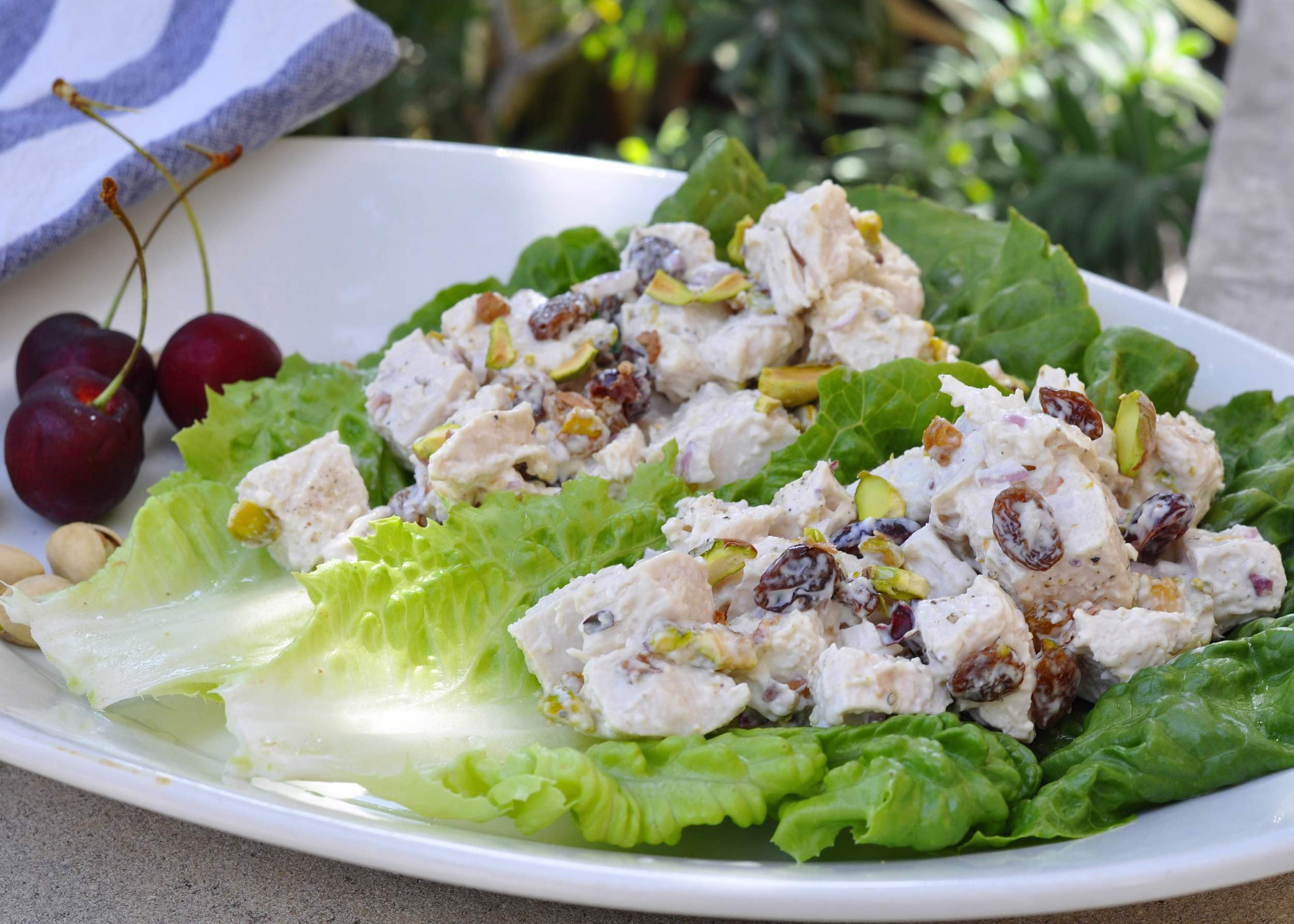 Cherry Pistachio Chicken Salad Recipe