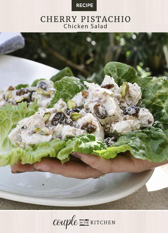 Cherry Pistachio Chicken Salad Recipe