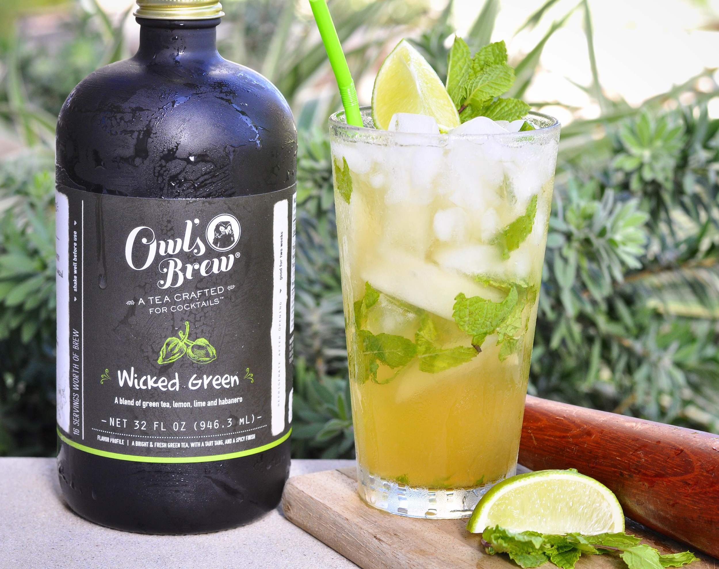 mojito cocktail recipe with owl's brew