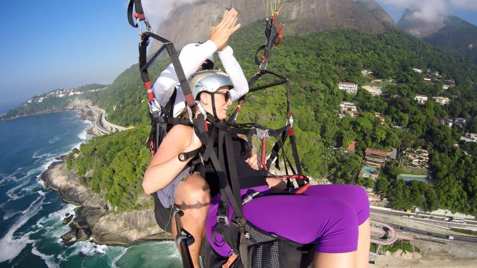 Rio De Janeiro, Brazil Paragliding
