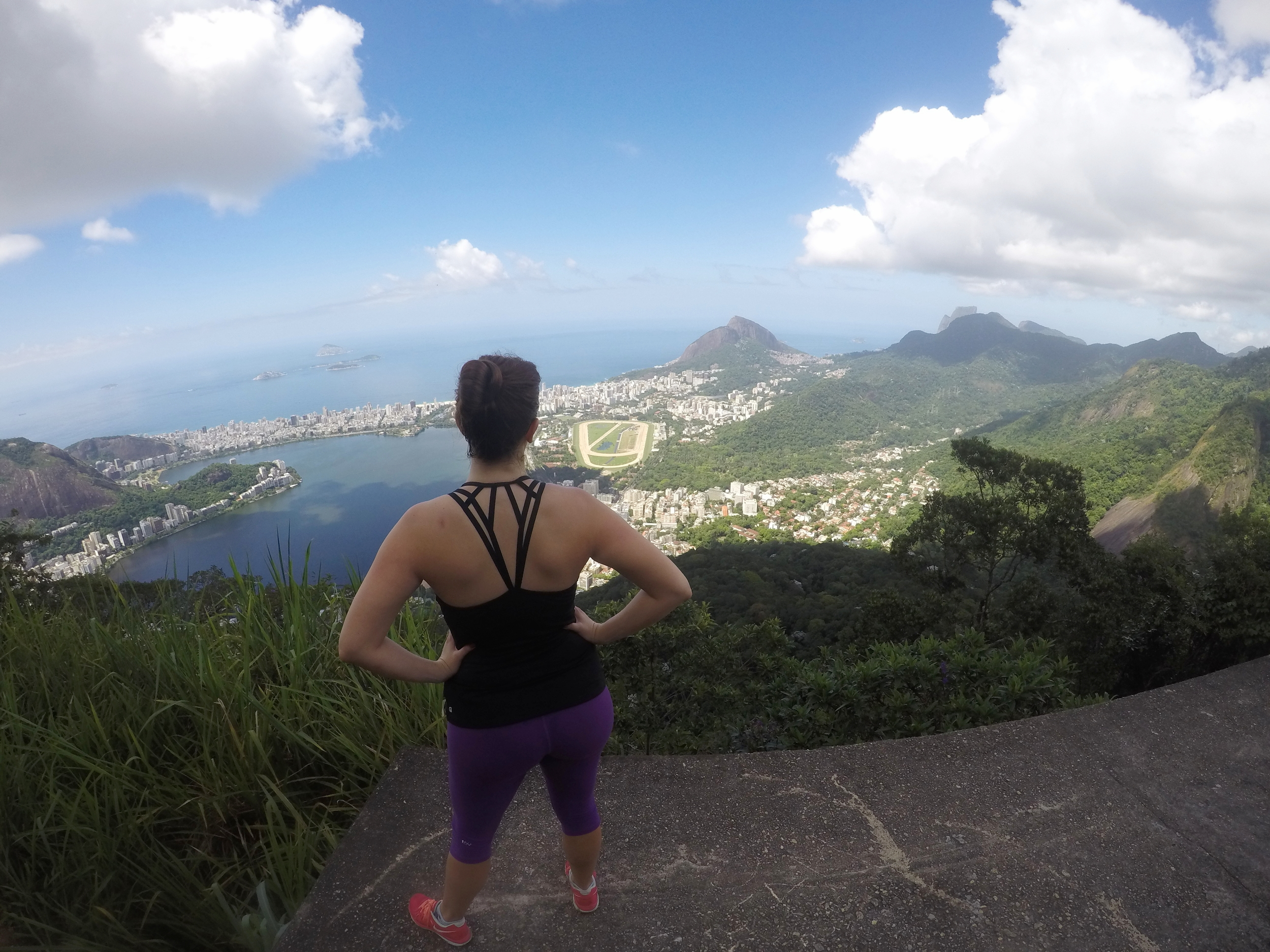 The view from hiking to the top to Christ the Redeemer in Rio De Janeiro, Brazil - Rio Travel Tips