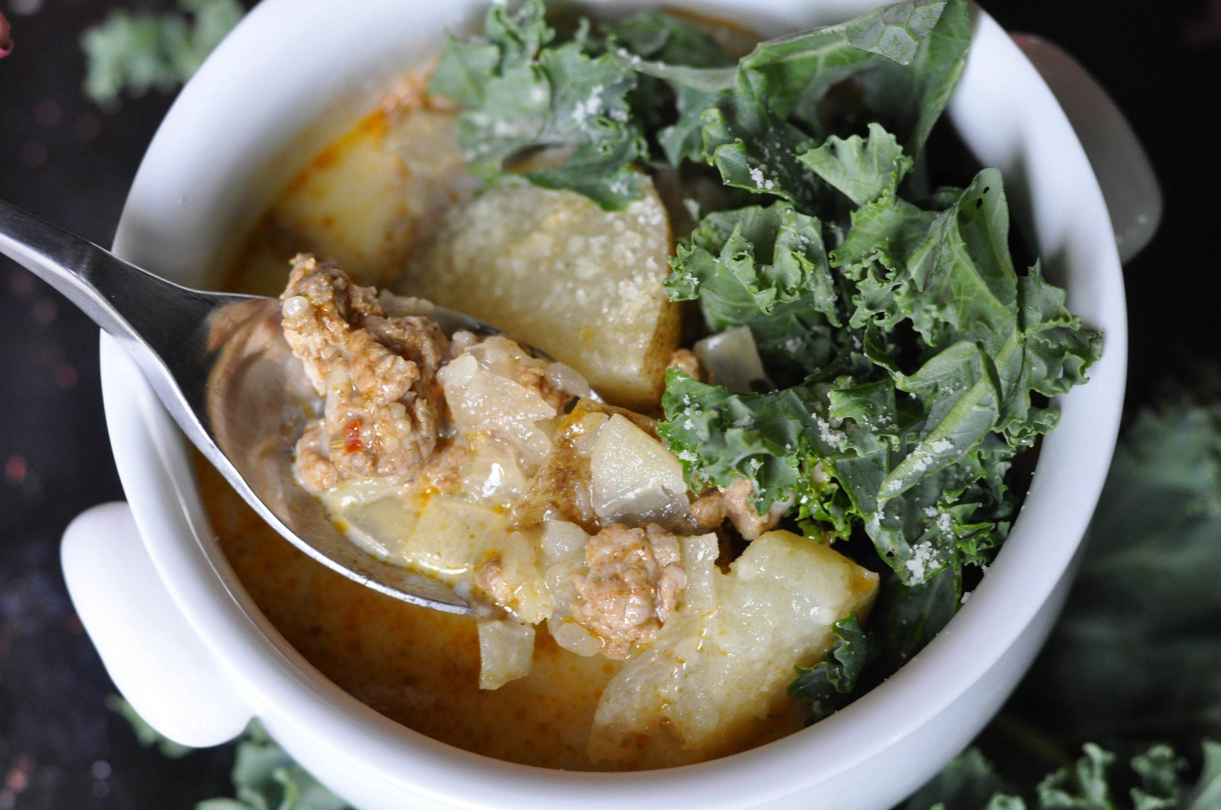 Zuppa Toscana Soup   coupleinthekitchen.com