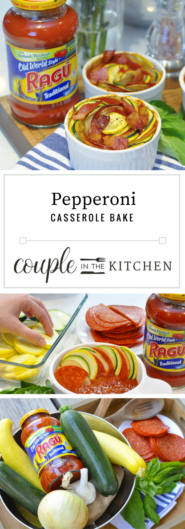 Pepperoni Casserole | coupleinthekitchen.com